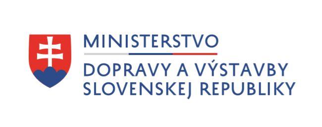 logo ministerstvo dopravy a vystavby