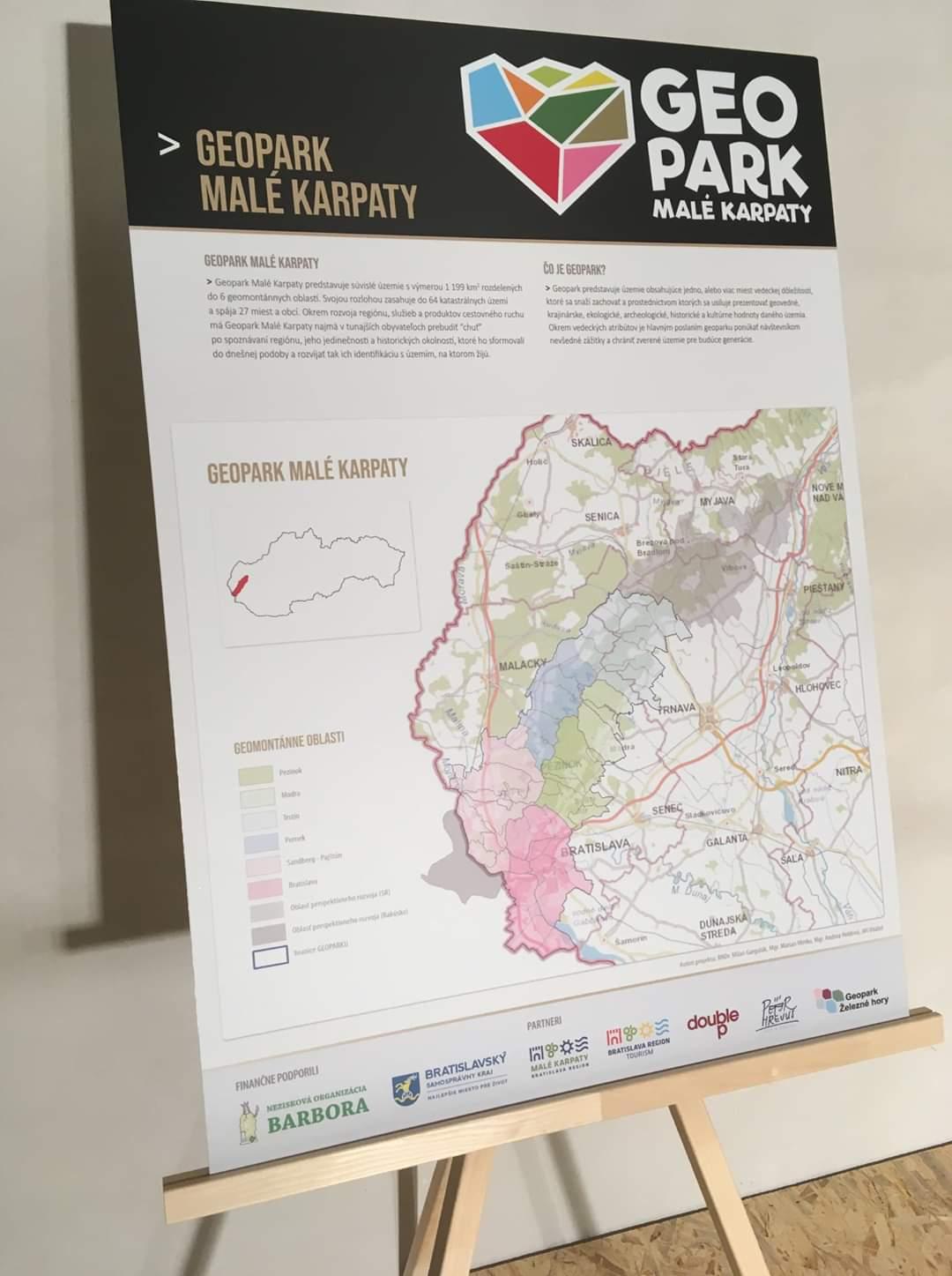 Infostánok – Geopark Malé Karpaty